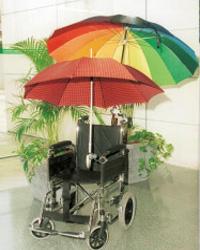 Soporte silla ruedas